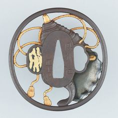 Sword Guard (Tsuba), 18th century. Japanese. The Metropolitan Museum of Art, New York. Bequest of Edward G. Kennedy, 1932 (33.40.14)