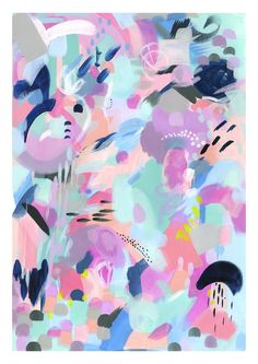 Bek Halliday, Australian based abstract artist and illustrator. Offering original wall art, prints and creative wall wares for interiors.