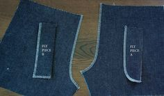 *My Educated Mind < How to sew a Fly Front Zipper > Comes with a blueprint > Your further fashion if you do own one ~