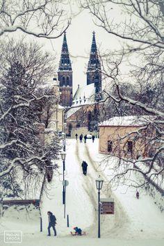 St Peter and St Paul Church, Vyšehrad, Prague | http://www.iconhotel.eu/en/contact/location