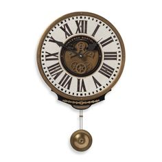 Product Image for Uttermost Vincenzo Bartolini Wall Clock in Cream 1 out of 2