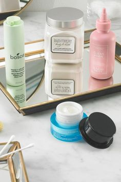 """Skincare at #MacysBeauty   Give your skin some love. Whether you come from the mindset of """"more is more"""" or """"less is more,"""" we've got your skincare needs covered from head-to-toe. Shop our faves from boscia, Laura Mercier, belif and Sunday Riley. Sunday Riley, Minimalist Wardrobe, Laura Mercier, Skin Makeup, Holidays And Events, Allergies, Your Skin, Macy's Beauty, Mindset"""