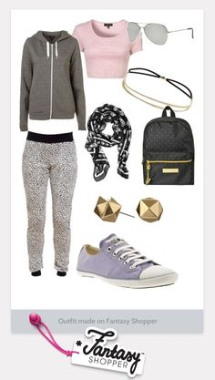 Sporty Chic - looking this Outfit :D #topshop #style #love