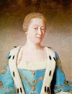 Princess Augusta Charlotte, Princess of Wales. George III's mamma by Jean-Étienne Liotard