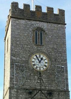 Newton Abbot, 365 Photo Challenge, Wood Watch, Clocks, November, 21st, Tower, Wooden Clock