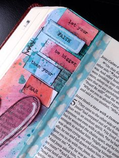 Bible Journaling | faux pax to finished