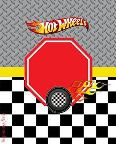Hot Wheels Kit Digital Gratuito Con Imagenes Cumpleanos De