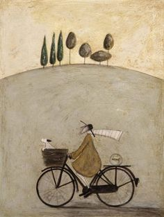 Sam Toft -- Picture Detail ( in town $75 - don't forget the pewter frame)