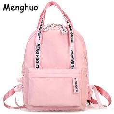 Large Capacity Backpack Women Preppy School Bag For Teenagers Female Nylon Travel Shoulder Bags Girls Bowknot Backpack Mochilas Preppy School Bag, Stylish School Bags, Preppy Backpack, Backpack Bags, Fashion Backpack, Travel Backpack, Messenger Bags, Rucksack Bag, Laptop Backpack