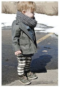 fashion boy with printed leggings, high tops, scarf and cool jacket! Swag. Fashionable dope. Cute. Cuteness. Kids are the most important part of the world. Love
