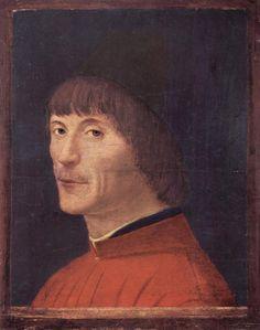 1460 Portrait of a man - Antonello da Messina