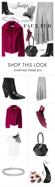 """""""Glamour"""" by cilita-d ❤ liked on Polyvore featuring BCBGeneration, Roksanda, Dries Van Noten, By Terry, RED Valentino, Gabriela Hearst and Blue Nile"""