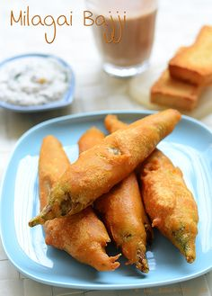 Ooty chilli Bajji recipe, milagai bajji, molaga bajji recipe - tips to remove the heat (spiciness) from the chilli and step wise pictures!