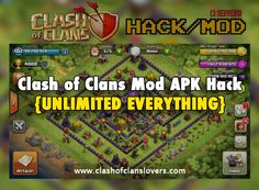 DOWNLOAD CLASH OF CLANS MOD NOW ON COC LOVERS , UNLIMITED GEMES , GOLD,  ELIXIR  #COCMOD #COCMODAPK #COCLOVERS #COCHACKS