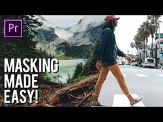 (69) Easy Masking In Adobe Premiere Pro - Transition Effect - YouTube