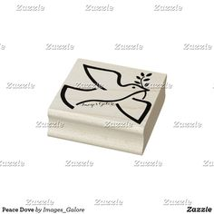 Peace Dove Rubber Stamp Peace Dove, Wood Stamp, Wooden Handles, Laser Engraving, Wood Art, Craft Projects, Classic, Pattern, Image