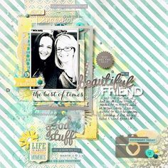 My Mind's Eye DT Project - by Missy Whidden -  featuring transparent frames from Jubliee Sherbet collection - papers & embellishments from Now & Then Milo collection.