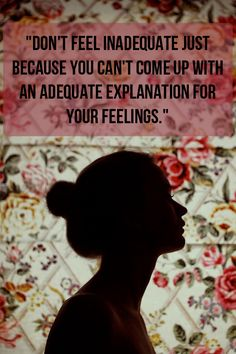 Quotes About Feeling Inadequate