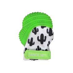 Silicone Green KOALA baby Hand Held Teether