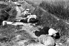 Korean civilians fleeing from the North Korean forces, killed when caught in the line of fire during night attack by guerrilla forces near Yongsan HD-SN-99-03166 - Korean War - Wikipedia, the free encyclopedia