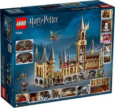 LEGO Harry Potter Hogwarts Castle 71043 Castle Model Building Kit With Harry Potter Figures Gryffindor, Hufflepuff, and more Pieces) Lego Harry Potter, Harry Potter Castle, Harry Potter Gifts, Harry Potter Hogwarts, Lego Hogwarts, Bellatrix Lestrange, Lord Voldemort, Albus Dumbledore, Ravenclaw