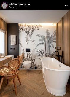 Big Bathrooms, Clawfoot Bathtub, Nordic Interior, Modern Bathrooms, Nordic Style, Interiors, Houses