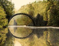 "Check out new work on my @Behance portfolio: ""Rakotzbrücke""…"