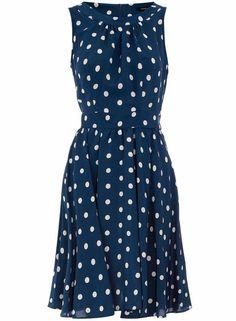 polka dot dress by olivia