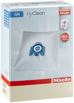 Amazon.com: Miele GN Replacement Dustbags (4 AirClean FilterBags, 1 motor protection filter, 1 AirClean Filter): Home & Kitchen