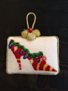 Christmas Tree Ornament ~ Canvas by Amanda Lawford | Christmas ...