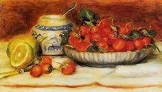 Pierre Auguste Renoir, French Impressionist painter, still life