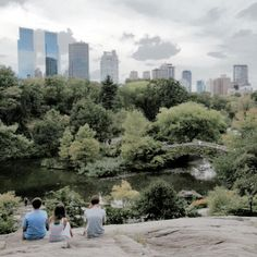 Central Park. New York.