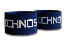 Ichnos blue adult size shin guard stays