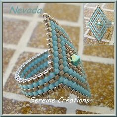 PDF pattern for easy ring. #Seed #Bead #Tutorials