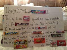 Birthday Candy-gram-I like the begining part for YW BDay grams. Birthday Presents, 50th Birthday, Birthday Ideas, Happy Birthday, Candy Quotes, Candy Sayings, Birthday Candy Grams, Over The Hill Gifts, Candy Board
