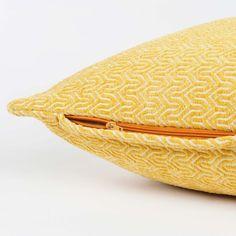 Cuscino giallo 45 x 45 cm JOBS