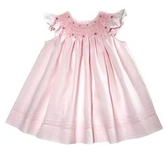 Glorious pink bishop: Traditional Children's ~ Smocked Dress Clothing, Smocked dresses, Bishop Dress...