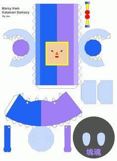 Ambix777deviantart Art Opeo Katamari Damacy Template 199592258