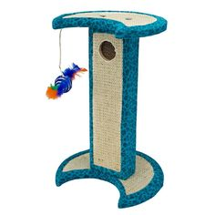 Penn-Plax Jungle Cat Scratcher, Blue > You will love this! More info here : Cat scratcher Jungle Cat, Leopard Cat, Cat Training Pads, Cat Scratching Post, Cat Scratcher, Cat Accessories, Cat Furniture, Cat Toys, Cat Life