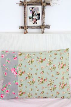 EASY PILLOWCASE SEWING TUTORIAL - Pillowcases are fun to make and a great project for the absolute beginner! This Easy Pillowcase Tutorial is quick and easy that you'll be finding yourself making pillowcases for everyone!