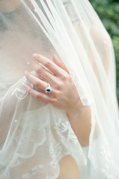 View entire slideshow: Sapphire Engagement Rings to Channel Your Inner Princess Kate on http://www.stylemepretty.com/collection/3342/