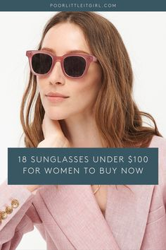 Wondering what sunglasses for women to shop for summer? Poor Little It Girl shares 18 sunglasses women should own for their face shape and personal sunglasses style. The sunglasses aesthetic is for a casual summer outfit and are afforable shades under $100. Summer Outfits, Cute Outfits, Popular Outfits, Street Style Summer, Petite Outfits, Petite Fashion, Casual Summer, Short Girls, Face Shapes