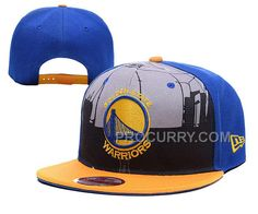 New Arrival Warriors Team Logo Blue Adjustable Hat YD ba3c4b73687