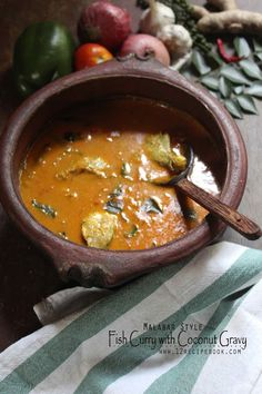 Malabar Style Fish Curry with Coconut Gravy - Recipe Book