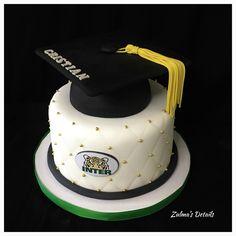 Graduation Cake Graduation Cake, Custom Cakes, Desserts, Food, Birthday Cake Toppers, Pies, Personalized Cakes, Tailgate Desserts, Deserts