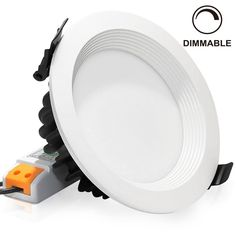 Dimmable Retrofit Led Remodel Recessed Lighting Fixture Daylight Ceiling Light Halogen Equivalent Can Downlight
