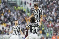 Juventus vs Livorno - Serie A - esultanza Llorente