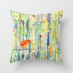 Buy grandir by Sylvie demers as a high quality Throw Pillow. Worldwide shipping available at Society6.com. Just one of millions of products available.