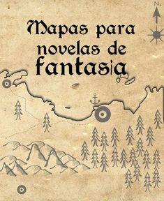 Mapas para novelas de fantasía y juegos de rol Writing Inspiration, Creative Inspiration, Writer Tips, Fantasy Map, Writing Process, Creative Writing, Writing A Book, Prompts, Storytelling