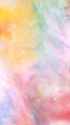 Pastel Iphone Wallpaper, Cute Emoji Wallpaper, Rainbow Wallpaper, Watercolor Wallpaper, Iphone Background Wallpaper, Colorful Wallpaper, Cool Wallpaper, Pink Ombre Wallpaper, Pink And Green Wallpaper